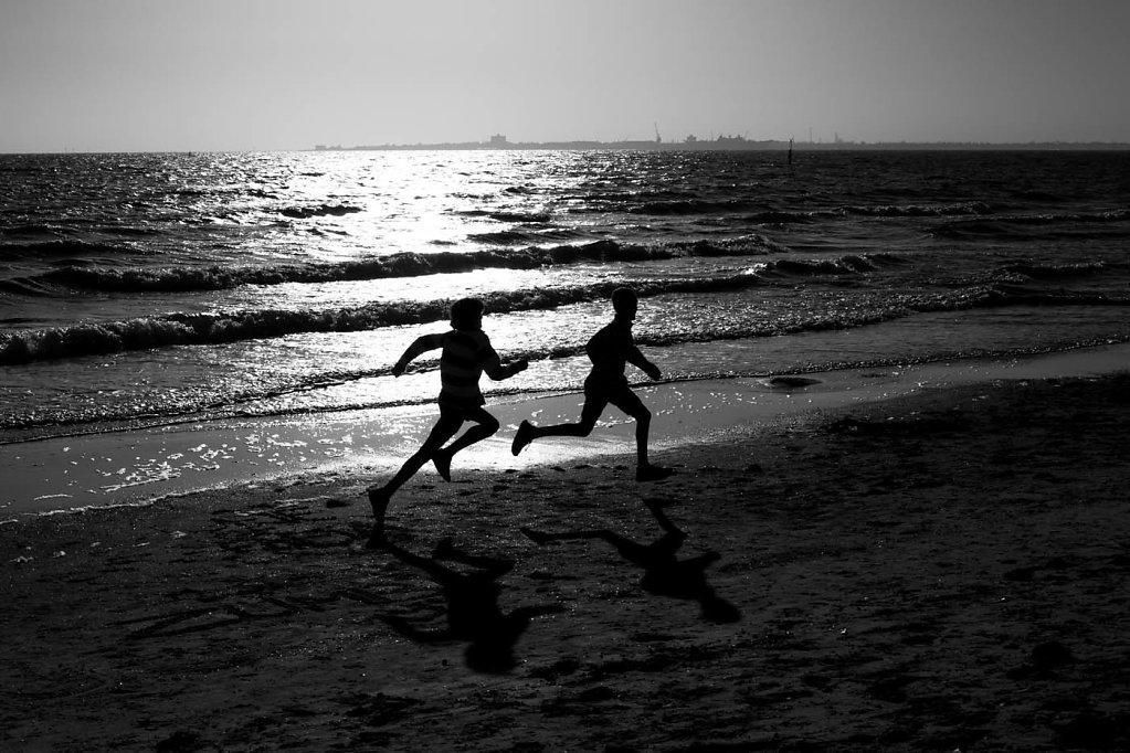 melbourne, st kilda beach, australia